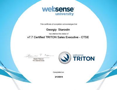v7.7Certified-TRITONSalesExecutive-CTSE